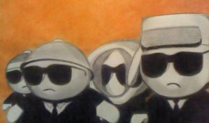 South Park Reservoir Dogs by baritone1980