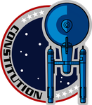USS Constitution Mission Patch NX-01 Style by viperaviator