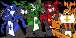 Castle Crashers WH40K by eightball6219