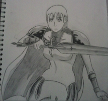 Drillsword Jean - Manga Style by inspired118