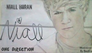 Niall Horan - Drawing by BeatrizLoveMyJesus