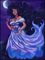 Midnight  Rapunzel by SankofaRida