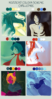 ColourScheme Meme: HXH Edition by ChaosTearKitsune