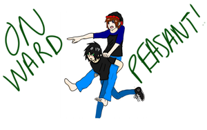 Mal and Dante (Piggyback Style) by BBFridaythe13
