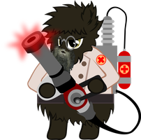Flabble Puff is best Medic - Commission by RedtoxinDash