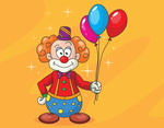 Free Clown Character by pixaroma