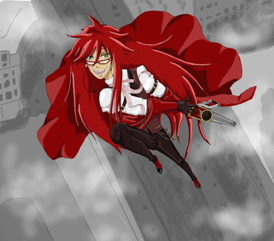 Grell Sutcliff by Xaizently