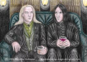 HP Lucius and Severus by Verlisaerys