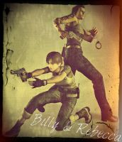 Billy and Rebecca (RE0) by TeamSNIC