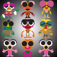 Muppet Cuties Series 2 by Gr8Gonzo