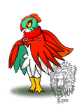 Rex, my Hawlucha by TheDocRoach