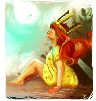 Aurora: Child of Light - Speed Paint by brainleakage