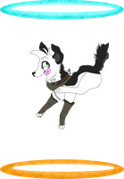 Being a Derp in the Portals XD by Super-Chey