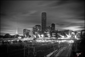 Federation Square HDR by MarkHumphreys