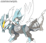 White Kyurem by Xous54