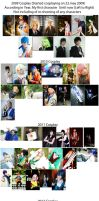 4th Year Cosplay photo collage by naokunn