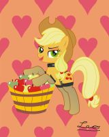 Applejack: Apples in deals... by leopurofriki