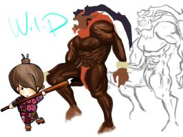 WIP ifrit FF by monmon202