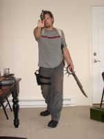 Dale with guns stock 16 by Tensen01