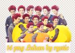 14 png Luhan by ryetic by Ryetic