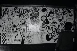 Live art shot by dewone