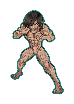 Rogue Titan sticker by Dani-Rattlehead