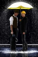 Glee: Singing In the Rain by Korikian