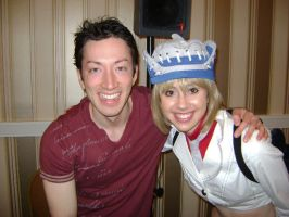 Me with Todd Haberkorn by trishmeister
