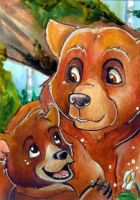 Brother Bear .ACEO. by Daishota