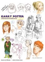 HP sketch dump by flominowa