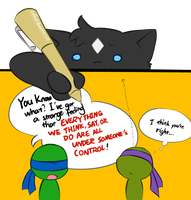 TMNT comic strip special 2 by Colend