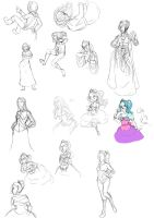 Sketchdump '40' by Crackinmychassis