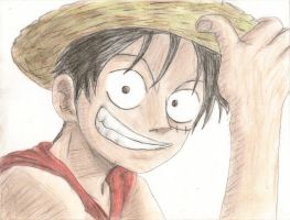 Monky D Luffy by axel13579