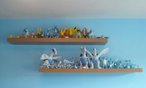 Lugia and Articuno Figures XD