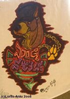 Dog Style Graff. by Lorfis-Aniu