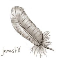 crappy mouse feather by jonasfx