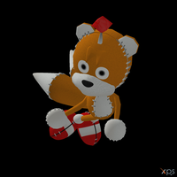 Sonic R - Tails Doll by Postmortacum