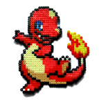 #004 - Charmander by Aenea-Jones