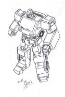 Ironhide G1 by OptimusPrime29