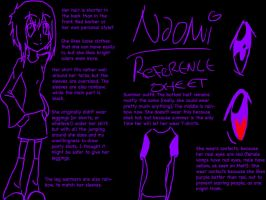 SPOILERS Naomi Reference Sheet by WeHaveYourCookies101