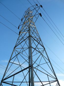 Electrical tower by PUBLIC-DOMAIN-PICS