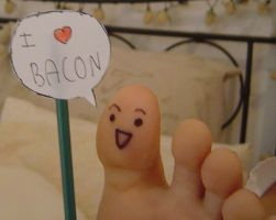 Toes like Bacon by Melc1010