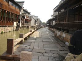 Hangzhou - Wuzhen water town by Laura-in-china