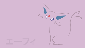 Espeon by DannyMyBrother