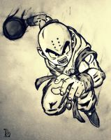 Krillin! by The-Loner-030