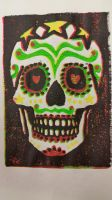 Mexican Skull Candy by kielymb