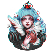 Queen of hearts by kittysophie