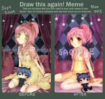 Draw This Again Meme - Shugo Chara by oceantann