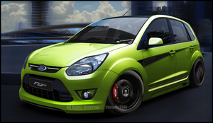 Ford Figo by Danyutz
