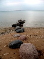 Walking Stones by Sariebear20